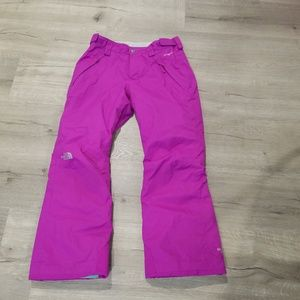 The NOrth Face EZ grow ski pants 10/12 Medium